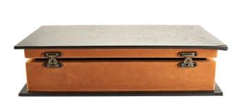 Hemlig bok formad casket Royaltyfria Foton