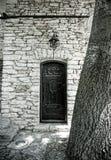 Hemlig dörr Arkivbilder