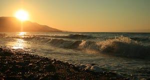 hemlig kust för paradis Royaltyfri Foto