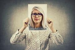 Hemlig personlighet arkivfoto