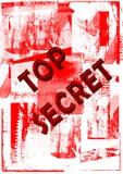 hemlig överkant Arkivbild