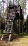 Hemliga byggnader Fotografering för Bildbyråer