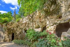 Hemliga passager av murverket Royaltyfri Fotografi