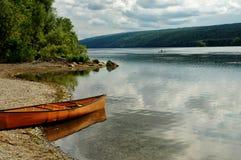 hemlock λίμνη Στοκ Φωτογραφίες
