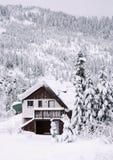 Hemlock Cabin Stock Images