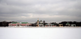 Hemman Kuskovo Royaltyfria Bilder