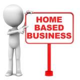 Baserad affär för hem Fotografering för Bildbyråer