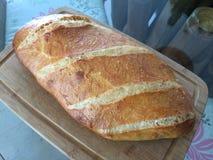 Hemmet gjord sourdough släntrar bröd Arkivbilder
