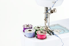 Hemming machine Royalty Free Stock Image
