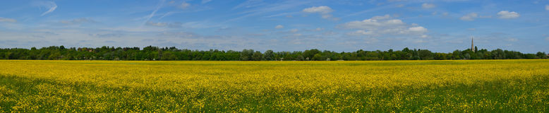 Hemmingford water meadow royalty free stock image
