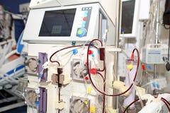 Hemodiálise - substituição da função renal Imagens de Stock