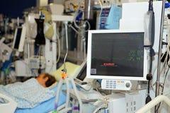 Hemodiálise - substituição da função renal Foto de Stock Royalty Free
