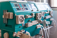 Hemodialysis device Royalty Free Stock Photos