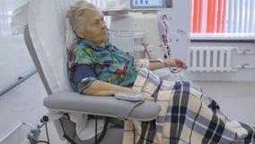 Hemodialysis Maszynowy sztuczny cynaderki zbiory wideo