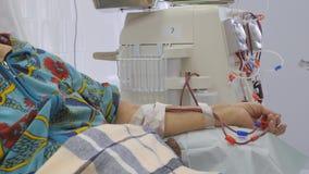 Hemodialysis Maszynowy sztuczny cynaderki zbiory