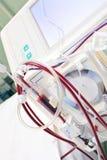 Hemodialysismaskin. Arkivfoton
