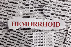 hemorrhoid Photographie stock libre de droits
