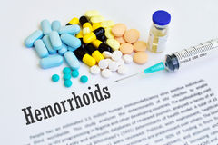 Hemorrhoids Stock Photo