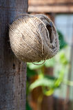 Hemp ball of string Royalty Free Stock Photography
