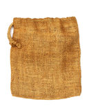 Hemp cloth bag Stock Photo