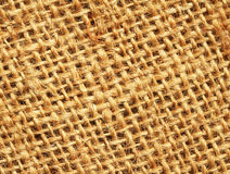 Hemp cloth texture background Royalty Free Stock Image