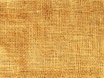 Hemp cloth texture background Stock Image