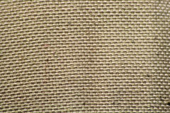 Hemp Fabric Texture Royalty Free Stock Photography