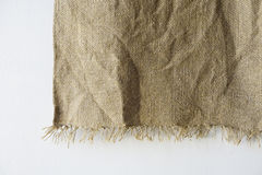 Hemp fabric texture background Stock Image