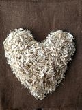 Hemp Heart. This heart is formed with industrial grade hemp hurd, a natural materia with endless uses. The heart plant. Nature& x27;s medicine. Created and Stock Image