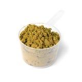 Hemp protein powder Royalty Free Stock Photos