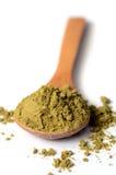 Hemp protein powder Royalty Free Stock Image