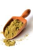 Hemp protein powder Stock Image