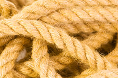 Hemp rope Stock Image