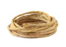 Hemp rope Arkivbilder