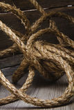 Hemp rope Royaltyfri Fotografi