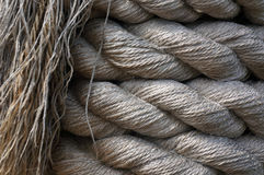 Hemp Rope Background. Royalty Free Stock Photography