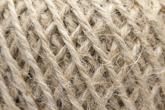 Hemp Rope Closeup Texture Royalty Free Stock Images