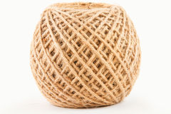 Hemp rope roll Royalty Free Stock Image