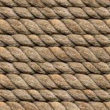 Hemp Rope Seamless stock images