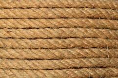 Hemp rope texture Stock Image