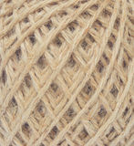 Hemp rope texture Stock Photography