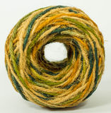 Hemp rope texture for handicraft. Colorful hemp rope roll , yarn, thread, string for handicraft Stock Photography