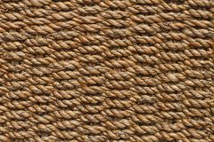 Hemp rope texture for pattern and background Royalty Free Stock Images