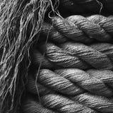 Hemp Rope Background. Royalty Free Stock Photo