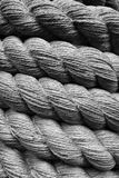 Hemp rope. Royalty Free Stock Photo