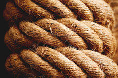 Hemp rope Royalty Free Stock Photos