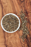 Hemp Seed Royalty Free Stock Images