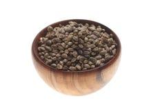 Hemp seeds or hemp nuts Stock Photography