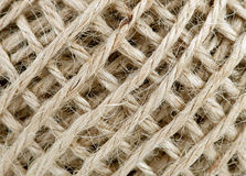 Hemp string background Royalty Free Stock Images