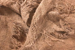 Hemp textile Royalty Free Stock Images